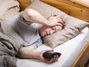 Projevy vydýchaného vzduchu - špatný spánek
